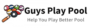 Guys Play Pool Logo